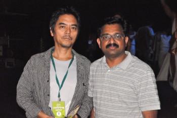 with Director Hiroshi Koiki