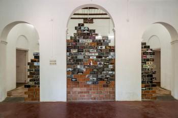 unnikrishnans work at Kochi Biennial