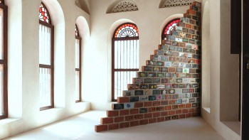 unnikrishnans work at sharjah biennial
